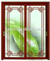 nuovo stile alluminio porta scorrevolein vetrointerno o esterno