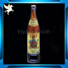 High Quality Custom Open Beer Bottle With Fridge Magnet