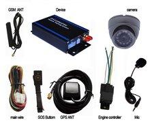2014 hot sale fleet management fuel sensor gps avl tracker with camera