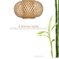 Chinese styel nature handmade floor lamp