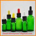 5ml, 10ml, 15ml, 20ml, 30ml, 50ml, 100ml grün ätherisches Öl glasflasche