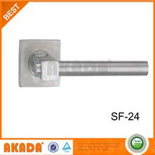 2014 whole seller steel popular sss european door handle lock