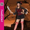 Whoesale recém projeto mulheres trajes do pirata para mulheres