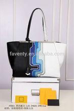 2014 Famous Brand Tote Bag Genuine Leather Ladies Bag
