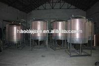 Pub/hotel/bar Mini Beer Brewery equipment, red copper mash tank