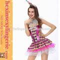 Acciones atractivas de moda traje del carnaval accesorios