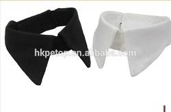 Plain Color Fabric Pet Collar Accessories