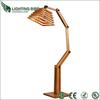 Modern Ash Wood DESIGNER Marine Tripod Floor Lamp