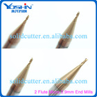 2, Flutes Micro 0.9mm end mill CNC milling cutters end mills endmill bits carbide milling tools tungsten carbide end mills