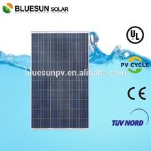25 years warranty Bluesun Painel Yingli Solar 245w pv solar panel