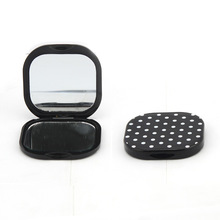 2014 newly fashion cheap plastic mirror/cosmetic mirror 7.0*6.9*1.0