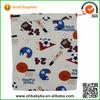 Ohbabyka high quality two pockets zip-closure printed cloth baby diaper bag