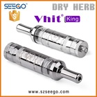 Hottest refillable e vaporizer SEEGO Vhit King wax oil atomizer sandal king