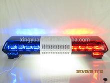 E-mark, CE certification 12v/24v emergency lighting bar/Red and blue police dash light bar 1w LED ring light bar for cars