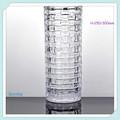 Cilíndrica de vidro vaso de flor/decoração do casamento