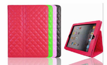 2014 New Fashion Brand Flip Stand Leather Case Cover For Apple Ipad 2 Tablet PC