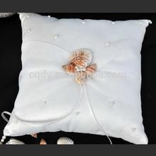 Ocean Theme shell decoration Wedding ring pillow/wedding gift