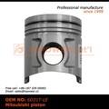 de alta calidad de aleación de acero forjado de pistón hecha en china