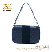 Factory Cheap Prices!!!2014 Classical Plaid PU Popular Leather Handbag