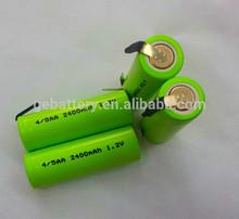 NiMH Rechargeable Battery AA 1.2V 2400mAH