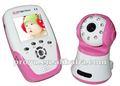 Lcd wireless baby monitor com leitor de música e de tamanho pequeno py-b387