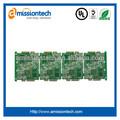 8 camadas multilayer pcb eletrônica com 2.4mm espessura da placa