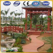 CE,ISO,TUV,SGS Certification wpc waterproof best price wooden gazebo price