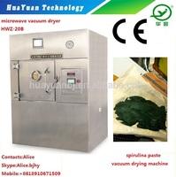 spirulina paste microwave vacuum puffing&drying machine
