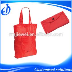 High Quality Custom Made Cheap Nylon Foldable Shopping Bag