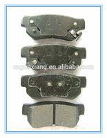 Disc organic brake pads of no asbestos
