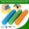 custom silicone rubber handle/silicone bag holder handle