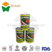 425gX24tins good quality manufacture geisha mackerel fish in tomato sauce