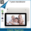 ZXS-9-W1 china supplier 9 inch ATM7021 touch screen dual core dual camera tablet computer wholesale
