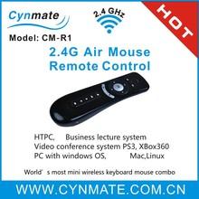Latest 2.4g High-tech mini air mouse for samsung smart tv