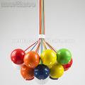 la bola de colores de estilo art deco de iluminación de luz del partido
