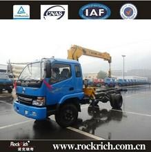 5 Ton 3 Section Telescopic Boom China Manufacture Hydraulic Truck Crane