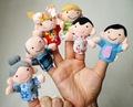 2014 superior- gente de calidad marioneta de mano, de la mano de dibujos animados juguetes títeres/marionetas, empujar juguetes títeres/marionetas