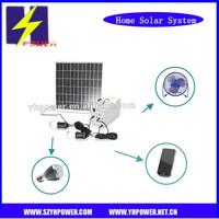 factory 12ah 3a 12v 15w solar power generator system