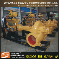 High Capacity Engine Fire Pumps, High Flow Diesel Water Pump Set, Diesel Engine Driven Water Pump For Irrigation
