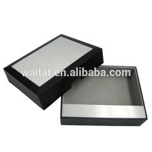 Plastic Fancy Aluminum Gift case Plastic