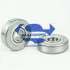shielded unflanged precision miniature ball bearings
