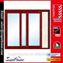 AGGA certificate aluminium decorative awning window with double glazing