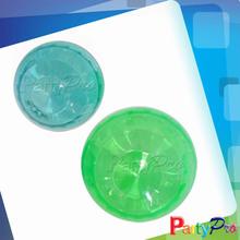 2014 Hot Sale Clear Plastic Hollow Balls High Rubber Bouncing Ball