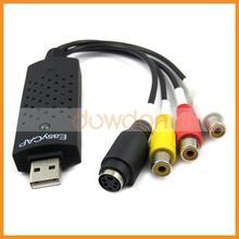 USB 2.0 Easy CAP DC60 DVD TV VHS Video Capture Audio AV Capture