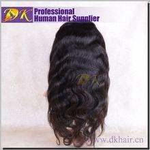 Guangzhou DK Hair High quality brazilian hair wig brazilian virgin lace front wigs