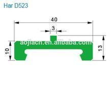 Plastic wear strips for conveyor manufacturer