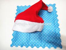 Yiwu wholesale Cheap christmas party santa hat