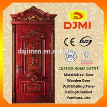 Environmental PVC/MD F Engraving Interior Wooden Door YZ-026