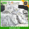 Best price natural linen silver bedding set/duvet cover bedding set