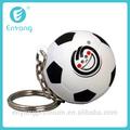 2014 nuevo producto promocional personalizado anti estrés mini balón de fútbol llavero